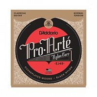 Струны D`Addario EJ49 Pro-Arte Black Nylon, Normal Tension