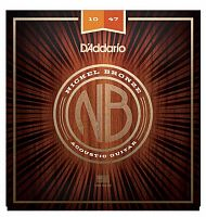 Комплект струн D'Addario NB1047-12 Nickel Bronze, Light, 10-47