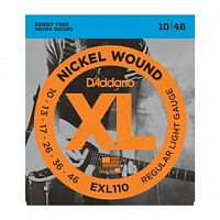 Струны D`Addario EXL110 Nickel Wound, Regular Light, 10-46