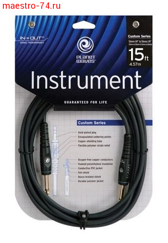Гитарный шнур Planet Waves PW-G-15